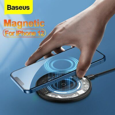 AU27.99 • Buy Baseus 15W Qi Fast Charging Wireless Charger Pad For Samsung S20 IPhone Huawei