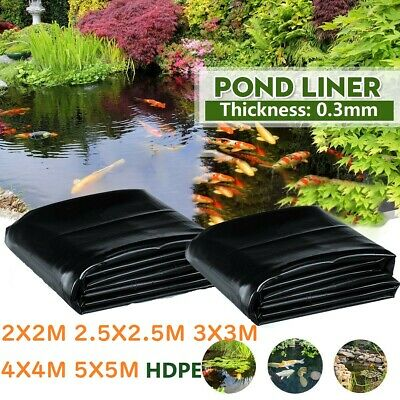 [10% OFF] Pond Liner Guarantee Garden Pool Pond Liners For Fish Pond Landscaping • 16.79£