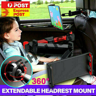 AU29.95 • Buy Extendable Foldable Headrest Mount Holder Metal Car Seat For IPhone IPad Tablet