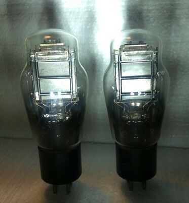 $ CDN2225.12 • Buy Pair Triode Power 2A3 Tube Vintage SINGLE PLATE Foremost A1 TRIODE Amplifier