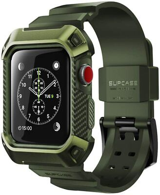 $ CDN20.12 • Buy New For Apple Watch Series 3 2 1 SUPCASE Protective Watch Case With Strap Bands