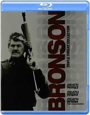Death Wish 2 , 3 & 4 - Bronson Triple Pack -  Blu Ray -  New & Sealed  • 12.99£
