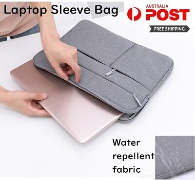 AU19.56 • Buy Laptop Sleeve  Bag Travel Carry Case Cover 13.3 Inch For MacBook Dell Asus Hp