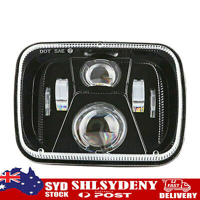 AU47.49 • Buy 250W 5x7 Inch Led Headlight 7x6 Sealed Beam Headlamp With High Low Beam SL