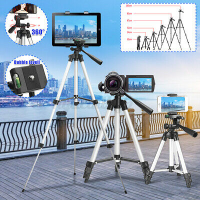 AU13.77 • Buy Adjustable Camera Tripod Mount Stand Holder For IPhone 12 11 Samsung S20 Note10