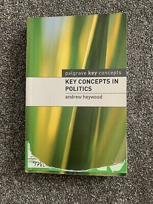 Key Concepts In Politics By Andrew Heywood (Paperback, 2000) • 4£