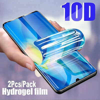 For Huawei P30 P40 Pro Smart TPU Hydrogel FILM Screen Protector NEW • 3.95£