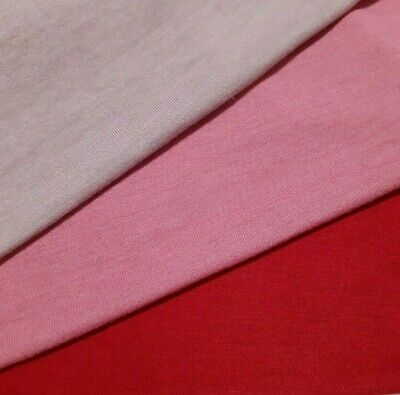 £4.72 • Buy Knit Jersey Fabric 4 Way Stretch Thin Sweater Sold By The Metre
