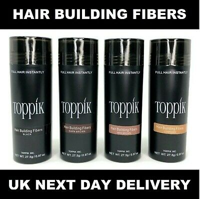 £5.99 • Buy TOPPIK HAIR BUILDING FIBRES 27.5g UK FAST FREE DELIVERY