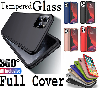 Case For IPhone 8 7 6 Plus XR XS SE 2 Shockproof 360° Full Body Cover Protective • 2.59£