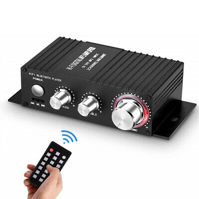 Mini Bluetooth 4 2 Digital Power Amplifier HiFi Stereo Audio Amp Lossless 100W • 15.97£