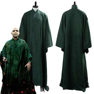 £69 • Buy Lord Voldemort Cosplay Costume Green Uniform Halloween Outfit