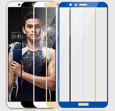 5D Tempered Glass Screen Protector Guard For Huawei P10 P9 Mate10 Plus Pro • 2.99£