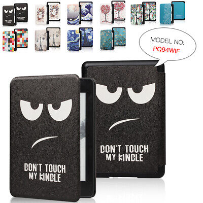 For Amazon 2018 Kindle Paperwhite4 10th Painted Leather Flip Magnetic Case Cover • 6.59£