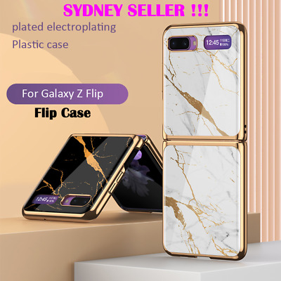 AU29.99 • Buy Samsung Galaxy Z Flip Case Fashion Mobile Phone Cover Tempered Glass Protection