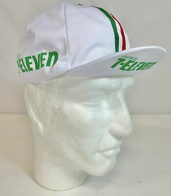 AU15.88 • Buy 7 Eleven Vintage Professional Team Cycling Cap - Made In Italy By Apis