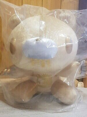 UK SELLER CHAX GP Gloomy Bear GOLD Plush 20th 30cm Anniversary Toreba Japan NEW • 32£