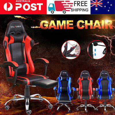 AU129.90 • Buy AYLESEA Gaming Chair Office Computer Leather Chairs Racer Executive Racing Seat