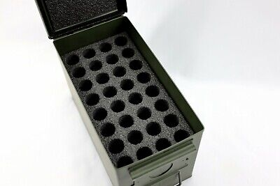 $23.55 • Buy Closed Cell Foam Fits 50cal 50 Cal M2A1 Caliber Ammo Can Fits 32 26.5mm Flare