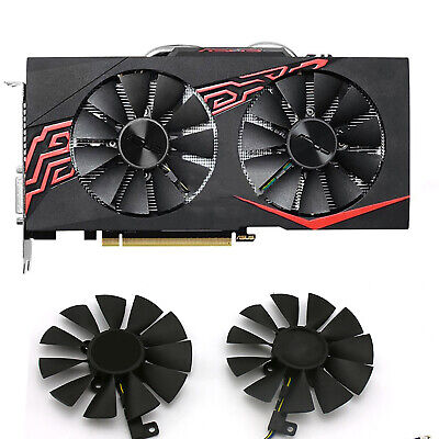 AU15.23 • Buy Replace Parts For ASUS GTX 1060-O6G-GAMING Graphic Card Cooling Fan Cooler Black