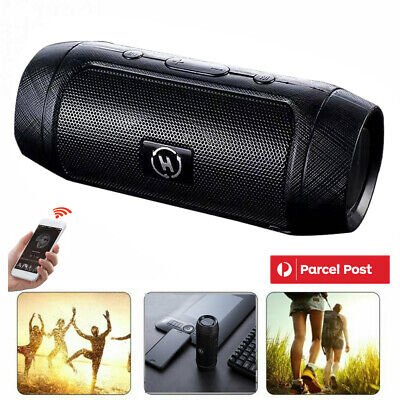 AU18.95 • Buy Rechargeable Wireless Bluetooth Speakers Portable Outdoor USB/TF/FM Radio Stereo