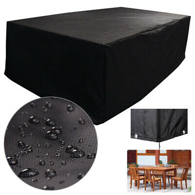 240X115X140CM Heavy Garden Furniture Waterproof 4-8 Seaters Rattan Protect Cover • 23.94£