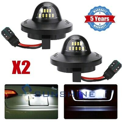 $12.71 • Buy 2x LED License Plate Light Lamp Assembly Replacement For Ford F150 F250 F350 New