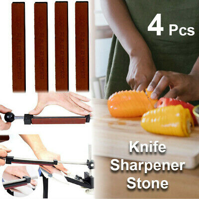 AU15.79 • Buy Professional Chef Knife Sharpener Stones Kitchen Sharpening System Fix Angle 4
