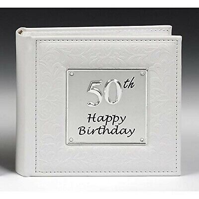 Deluxe 50th Birthday Party Photo Picture Album Gift • 19.96£