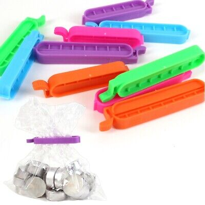 20x ASSORTED BAG CLIPS Small/Large KEEP FOOD FRESH Freezer Fridge Storage Ties • 4.25£