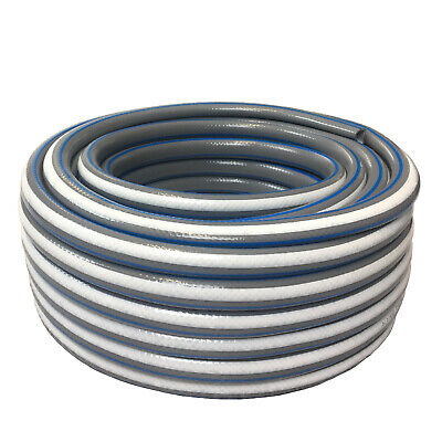 Reinforced Garden Hose 10m 20m 25m 30m 50m 4 Layer Outdoor Watering Pipe 1/2  • 15.95£