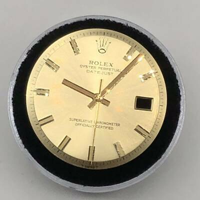 $ CDN725.01 • Buy Authentic Rolex Watch Datejust Gold Dial And Hands Set 1601 1603 S756310050