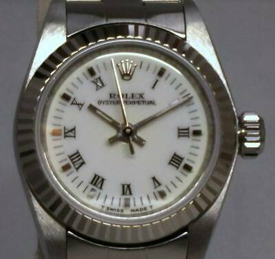 $ CDN4020.31 • Buy Authentic Rolex Vintage Watch Oyster Perpetual Silver Dial 67194 J594625247