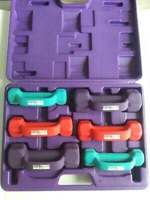 $ CDN165.55 • Buy Sport Works 2lb, 3lb & 5lb Dumbbell Hand Weights And Carrying Case Workout