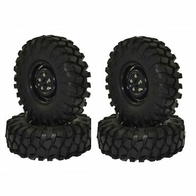 £20.99 • Buy 1:10 RC Rock Crawler 1.9  96/108mm Tires And Wheels For Axial SCX10 RC4WD D90