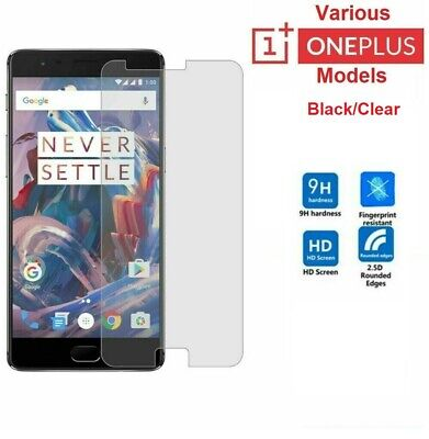 Tempered Glass Screen Protector One Plus 8 OnePlus 3 3T 5T 6 OnePlus 6T One+ 7 • 2.49£