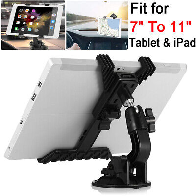 Universal 360° Windscreen Car Suction Mount Holder For 7  To 11  Tablet & IPad • 6.19£