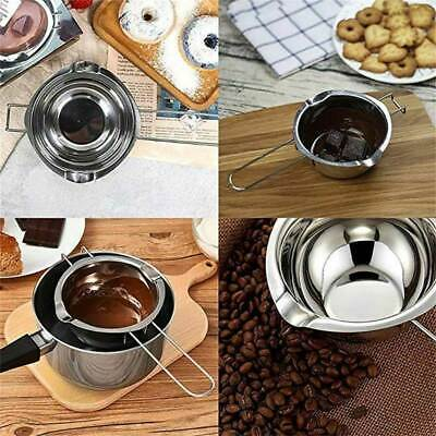 Stainless Steel Double Boiler Wax Melting Pot DIY Wedding Candle Scented Gifts • 6.84£