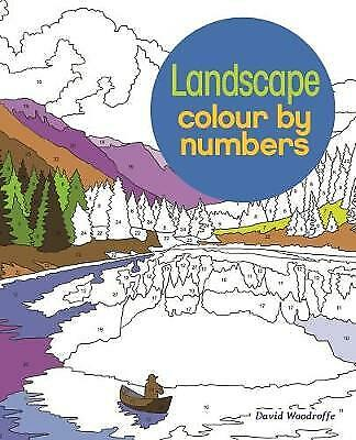 Landscapes Colour By Numbers - 9781784287672 • 5.90£