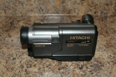 $ CDN67.12 • Buy Hitachi VM-E410A 8mm Camcorder With Manual & Remote WORKS