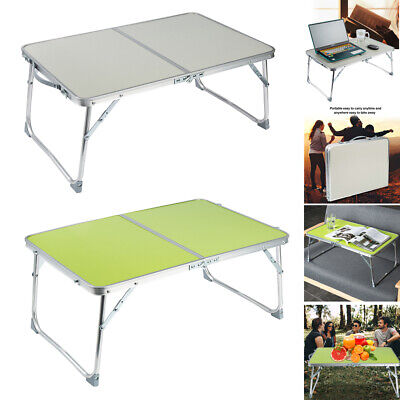Portable Folding Camping Picnic Table Party Kitchen OutdoorGarden BBQ Small Desk • 12.99£