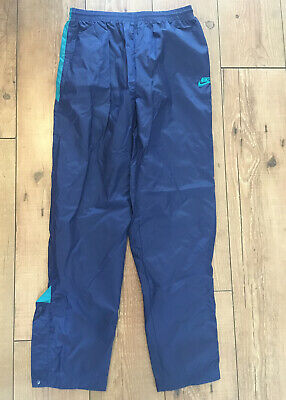Vintage Nike Shell Suit Waterproof Bottoms Trousers Joggers Womens US XL • 9.99£