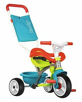 Smoby Be Be Move Baby Trike With Parent Handle | My First Toddler Tricycle, Easy • 83.99£