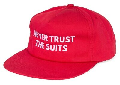 $ CDN31.51 • Buy Shadow Conspiracy The Suits Snapback Hat Subrosa Supreme Vans Obey Maga Red