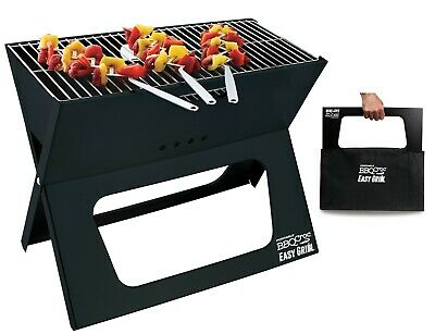 $ CDN69.99 • Buy Portable BBQ Croc Easy Grill - Premium Foldable Charcoal Barbecue