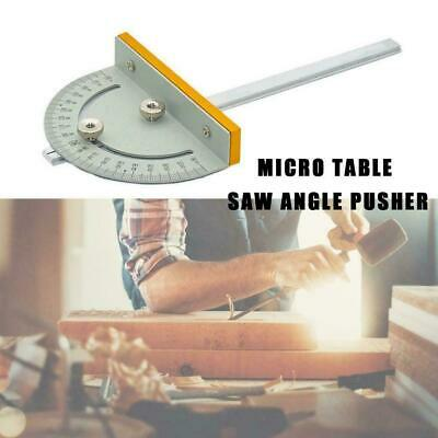 Portable T Style Angle Ruler Woodworking Table Saw DIY Smo Accurate Tools V3Y6 • 4.26£