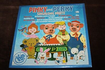 Pinky And Perky Singalong Party - Old Vinyl LP - MFP 50156 - 1974 - Very Good • 3£