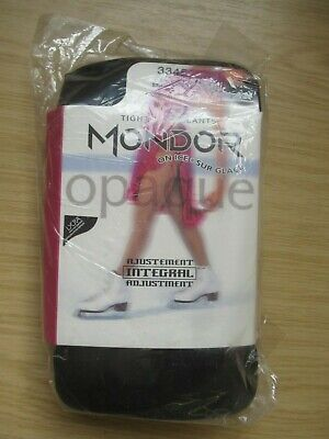 £9.99 • Buy Mondor Integral Adjustment 3345 Ice Skating Tights, Size L-g, New In Packet