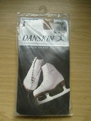 Danskin Style 389 Footed Ice Skating Tights, Lt Toast, Size Sm, New In Packet • 6.99£