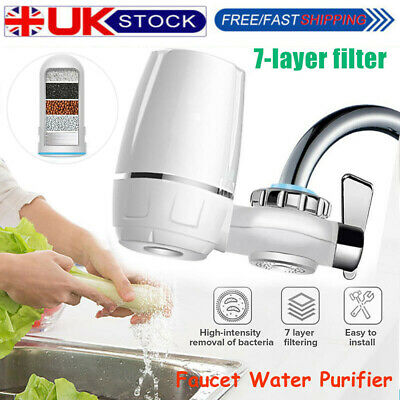 Tap Water Purifier Kitchen Faucet Ceramic Filtration Cleaner Home Water Filter • 15.69£